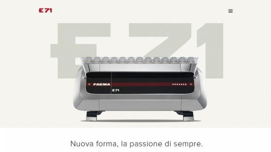 Faeme E71. The best interpreter of master coffee