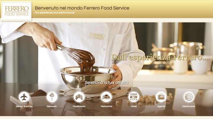Ferrero Food Service. Our Experience Your Performance.