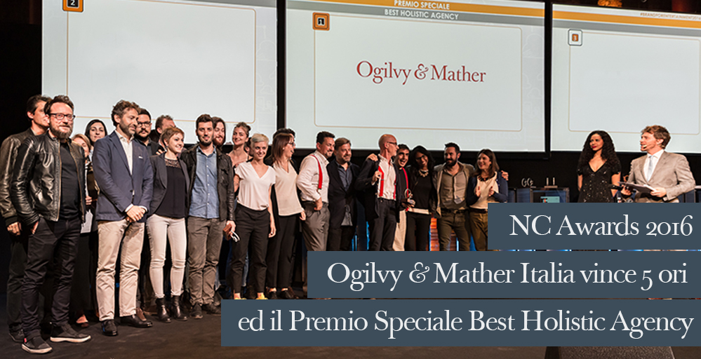 Ogilvy & Mather Italia. Best Holistic Agency
