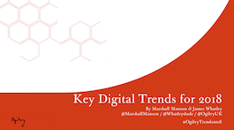 Key Digital Trends for 2018.