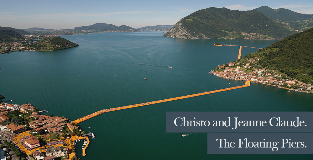 Christo and Jeanne-Claude. The Floating Piers.