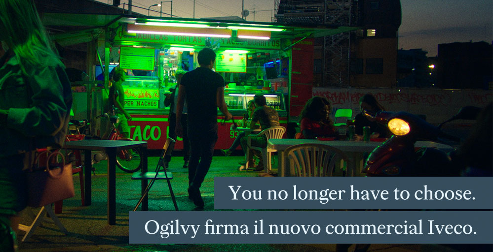 You no longer have to choose. Ogilvy firma il nuovo commercial IVECO.